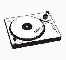 DJ Turntable Kids Tee