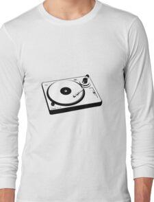 DJ Turntable Long Sleeve T-Shirt