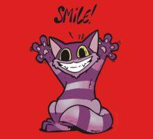 Insane Kitten, Smile! One Piece - Long Sleeve