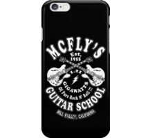 McFly's Guitar School iPhone Case/Skin