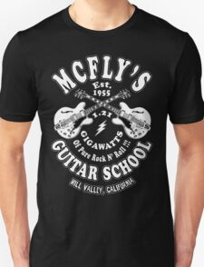 McFly's Guitar School Unisex T-Shirt