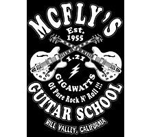 McFly's Guitar School Photographic Print