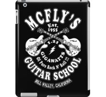 McFly's Guitar School iPad Case/Skin