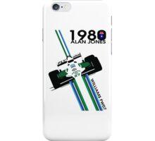 ALAN JONES AUSTRALIA WILLIAMS F1 1980  iPhone Case/Skin