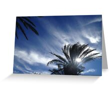 Palm Springs Winter Sky Greeting Card