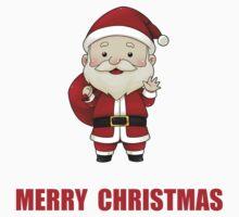 Merry Christmas Santa Claus Baby Tee