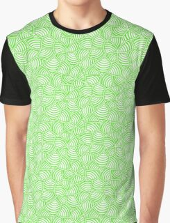 White on Lime Graphic T-Shirt