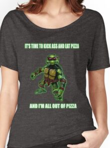 Out of Pizza Women's Relaxed Fit T-Shirt