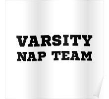 Varsity Nap Team Poster