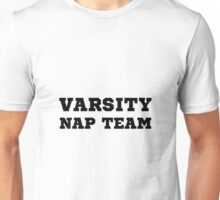 Varsity Nap Team Unisex T-Shirt