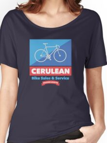 Cerulean Bike Sales & Service  Women's Relaxed Fit T-Shirt