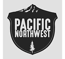 Pacific Northwest Mountain Badge Photographic Print