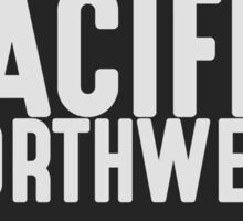 Pacific Northwest Mountain Badge Sticker