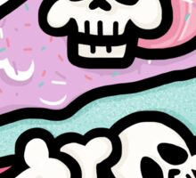 Crunchy Creepcake Sticker