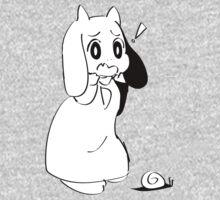 Asriel Dreemurr x Snail One Piece - Long Sleeve