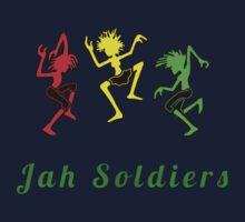 Positive vibration, Reggae soldiers Kids Tee