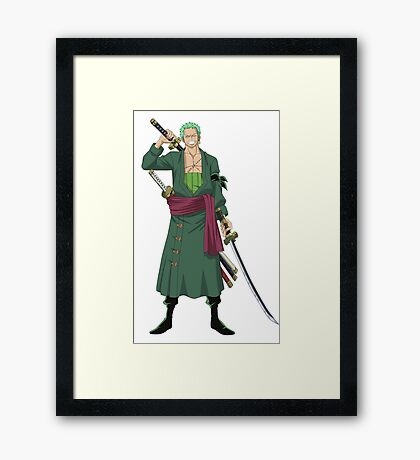 Lorenor Zorro Framed Print