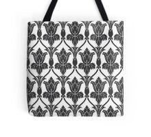 Sherlock Wallpaper Pattern Tote Bag