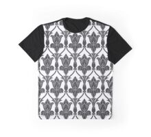 Sherlock Wallpaper Pattern Graphic T-Shirt