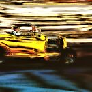 Yellow Rod Drive-By by Bob Wall