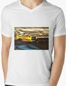 Yellow Rod Drive-By Mens V-Neck T-Shirt