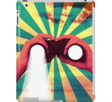 never stop searching iPad Case/Skin