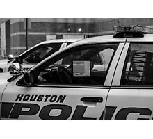 Houston police Photographic Print