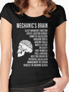 Mechanic's Funny Women's Fitted Scoop T-Shirt