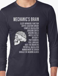 Mechanic's Funny Long Sleeve T-Shirt