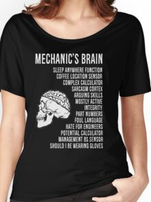 Mechanic's Funny Women's Relaxed Fit T-Shirt