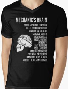Mechanic's Funny Mens V-Neck T-Shirt