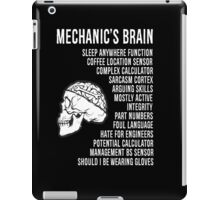 Mechanic's Funny iPad Case/Skin