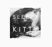 SLEEPY KITTY Womens Fitted T-Shirt