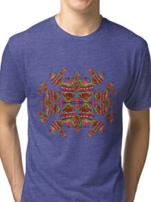 Infected Alien Mushroom Tri-blend T-Shirt