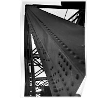 BW Bridge Poster