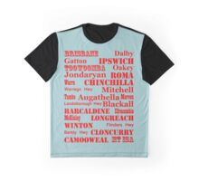 Queensland Route 2014 Graphic T-Shirt