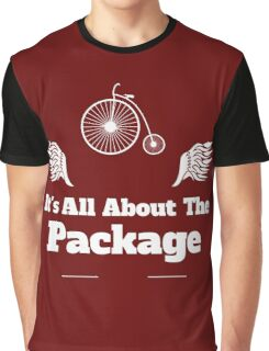 Its All About the Package Cycling Tee Graphic T-Shirt
