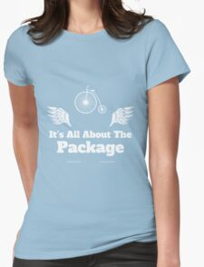 Its All About the Package Cycling Tee Womens Fitted T-Shirt