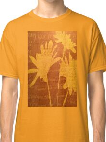 Autumn Sunset Flowers Classic T-Shirt
