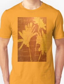Autumn Sunset Flowers Unisex T-Shirt