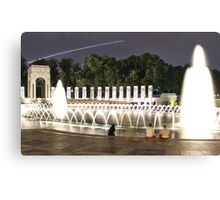 WWII Memorial Washington DC Canvas Print
