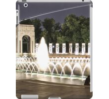 WWII Memorial Washington DC iPad Case/Skin