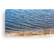 Blue Waters Canvas Print