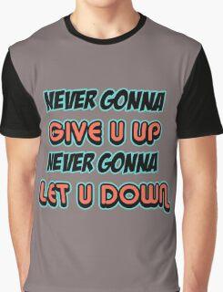 Rick Astley Graphic T-Shirt