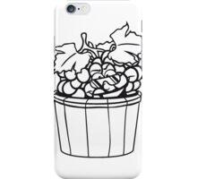 grapes grape harvesting tasty wine comic face cool sunglasses funny summer stomp bucket vat occur iPhone Case/Skin