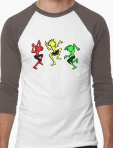 Positive vibration, Reggae soldiers no. 2 Men's Baseball ¾ T-Shirt