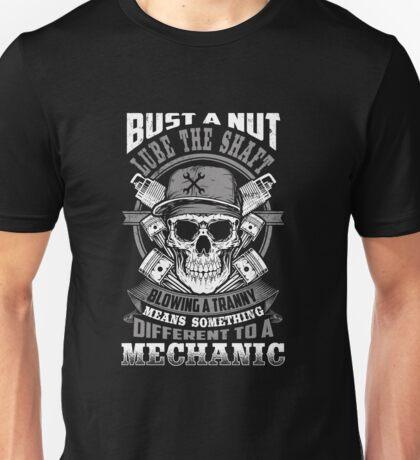 Mechanic Funny Unisex T-Shirt
