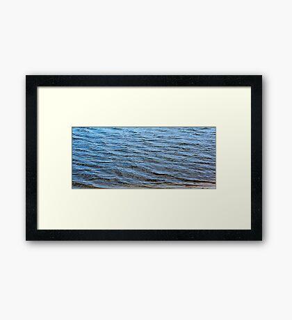 Blue Waters - Closeup Framed Print