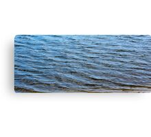 Blue Waters - Closeup Canvas Print