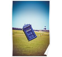The Tardis Is Landing in Puerto Rico Poster